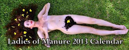 Ladies of manure 2013 Calendar