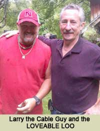 Larry the Cable Guy and the Loveable Loo